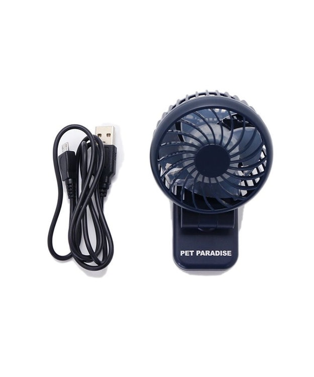 PET PARADISE ミニ 扇風機 クリップ ファン ハンディ ファン 携帯 ポータブル 熱中症対策 ひんやり クール