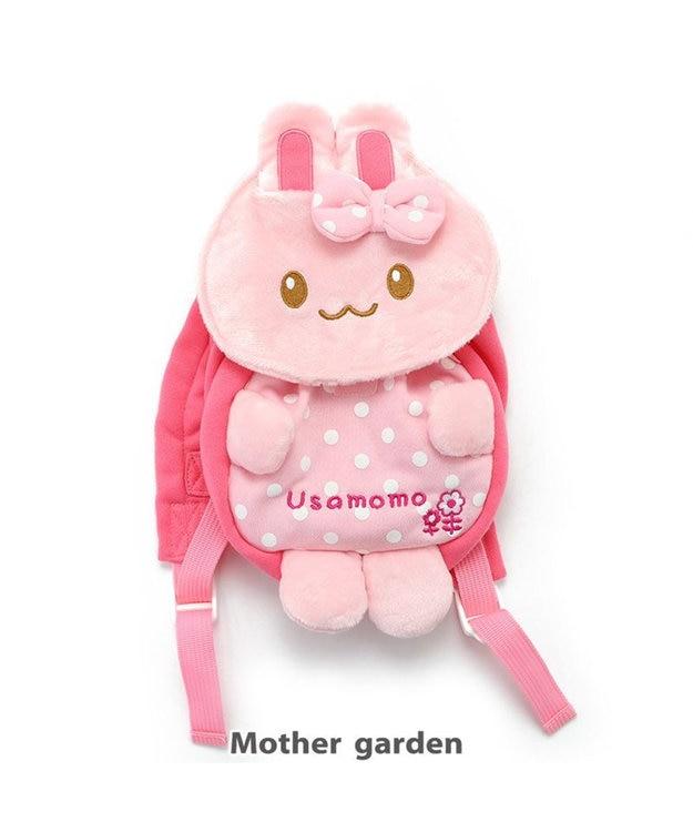 Mother garden うさもも 初めてのリュック お花 ベビーリュック