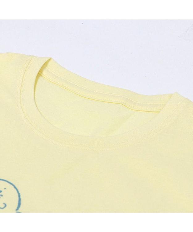 Mother garden しろたん Tシャツ 半袖 《星くじら柄》クリーム色 S/M/L/XL レディース メンズ ユニセックス 男女兼用 半袖 あざらし アザラシ かわいい キャラクター マザーガーデン