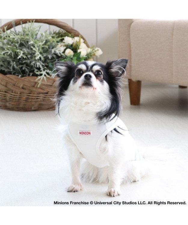 PET PARADISE 犬服 犬 服 ペットパラダイス ミニオン クール 接触冷感 虫よけ あひる柄 タンクトップ 〔小型犬〕 超小型犬 小型犬 天竺 ひんやり 夏 涼感 冷却 吸水速乾 クールマックス