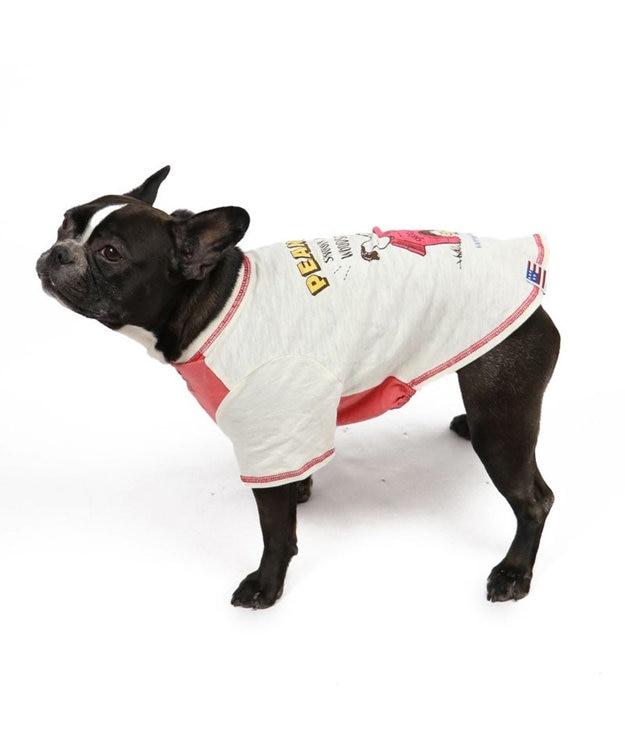 PET PARADISE 犬服 犬 服 ペットパラダイス スヌーピー 赤屋根 Tシャツ 〔中・大型犬〕 中型犬 大型犬