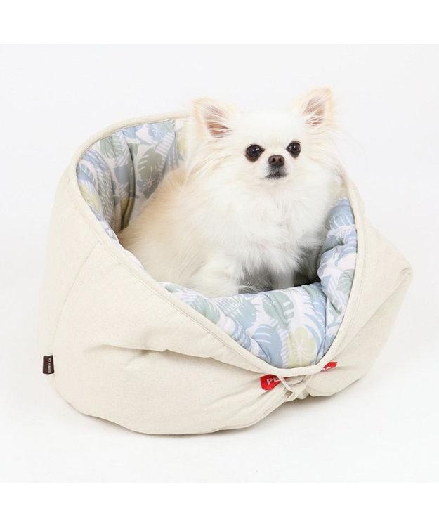 PET PARADISE 犬 春夏 クール 接触冷感 ペット ベッド 丸型カドラーベッド (40cm) カップカドラー 夏 ひんやり 涼感 冷却 クール 洗える 犬 猫 ペットベット ハウス 小型犬 介護 ふわふわ クッション