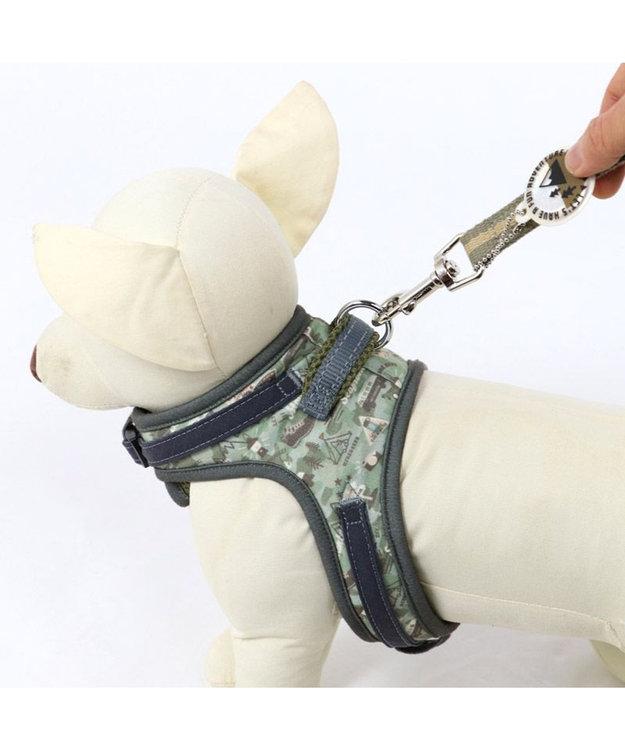 PET PARADISE 犬 ハーネス ペットパラダイス やさしい ハーネス 迷彩 3S 〔小型犬〕