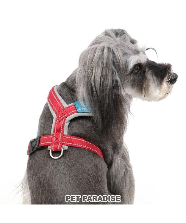 PET PARADISE ペットパラダイス アクティブハーネス 赤 ペット3S〔小型犬〕