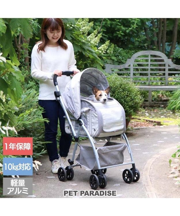 PET PARADISE 犬用品 ペットグッズ キャリーバッグ ペットパラダイス 犬 カート バギー おしゃれ 3WAY ハンドフル ペットカート   送料無料 1年保証 多頭用 折り畳み 猫 ペットバギー