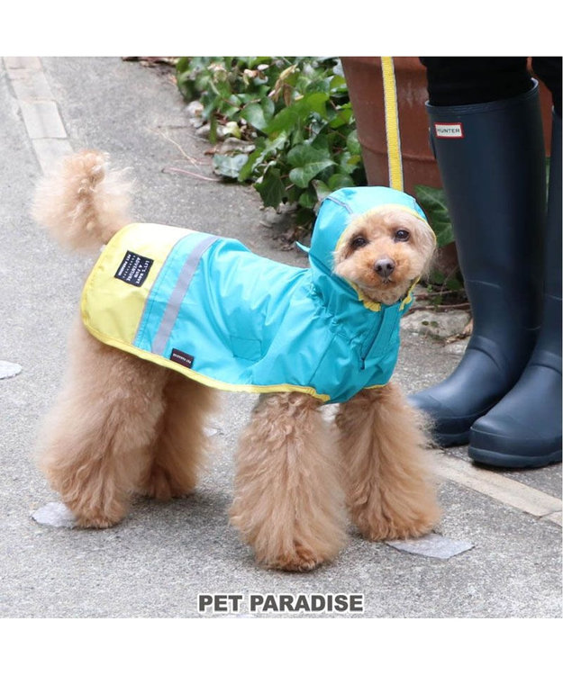 PET PARADISE 犬服 犬用品 ペットグッズ ペットウェア ペットパラダイス 切替レインマント 【超小型・小型犬】 | 犬用 超小型犬 小型犬