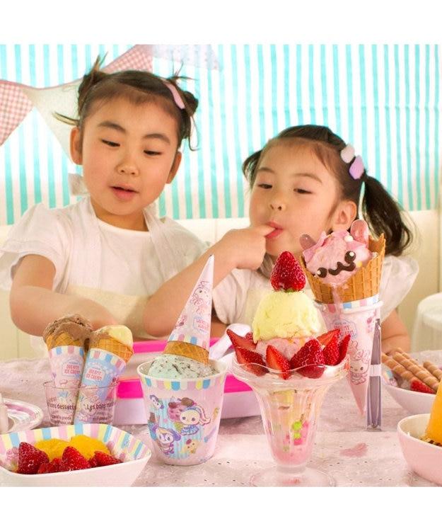Mother garden マザーガーデン うさもも アイスクリームメーカー 手作り おうちで 自宅で 簡単 安心 アイスクリーム作り ホームパーティー キッズ 親子 おやつ お菓子 スイーツメーカー