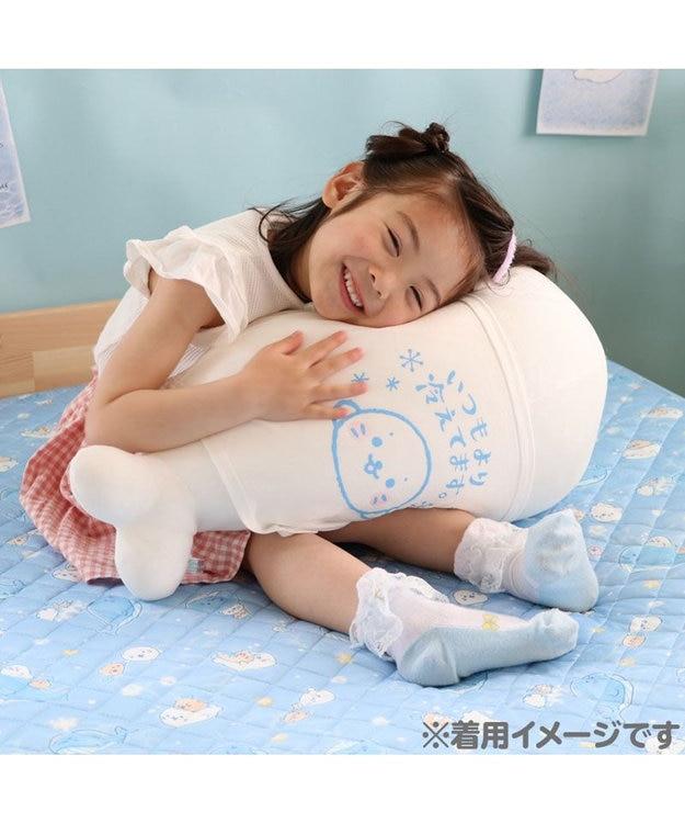 Mother garden しろたん 抱き枕 55cm 対応 冷やし しろたん クール Tシャツ  《いつもより冷えてます。》 クール ひんやり 抱きぐるみ ぬいぐるみ用 カバー 着せ替え 夏 寝具 快眠 接触冷感 クール生地 熱中症対策 あざらし キャラクター マザーガーデン