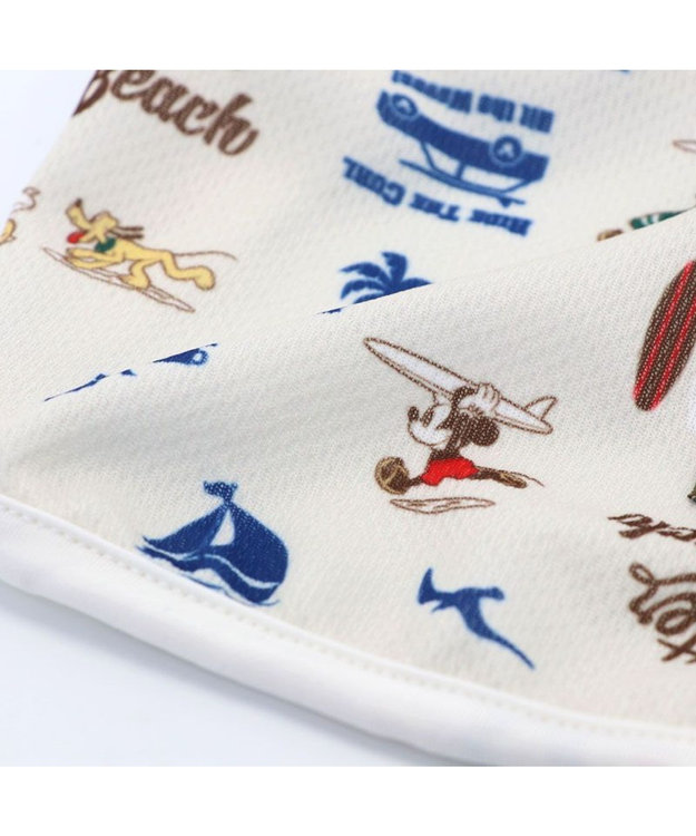 PET PARADISE ペットパラダイス ディズニー ミッキーマウス サーフ柄 保冷剤付き ポケット クール タンクトップ 〔小型犬〕 超小型犬 小型犬 ひんやり 夏 涼感 冷却