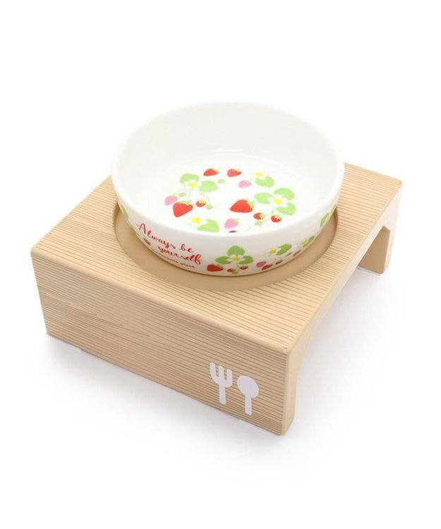 PET PARADISE ペットパラダイス ペットグッズ えさ皿 食器  木製フードテーブル 小