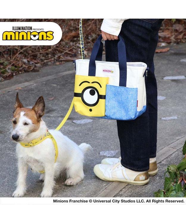 PET PARADISE 犬用品 ペットパラダイス ミニオン フェイス お散歩バッグ  (26cm×20cm)  散歩 おでかけ