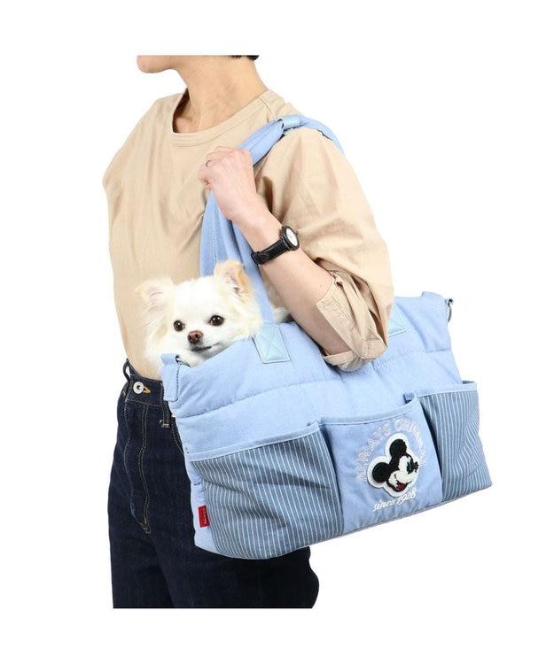 PET PARADISE 犬 キャリーバッグ ペットパラダイス ディズニー ミッキーマウス クッション キャリーバッグ 〔超小型犬〕