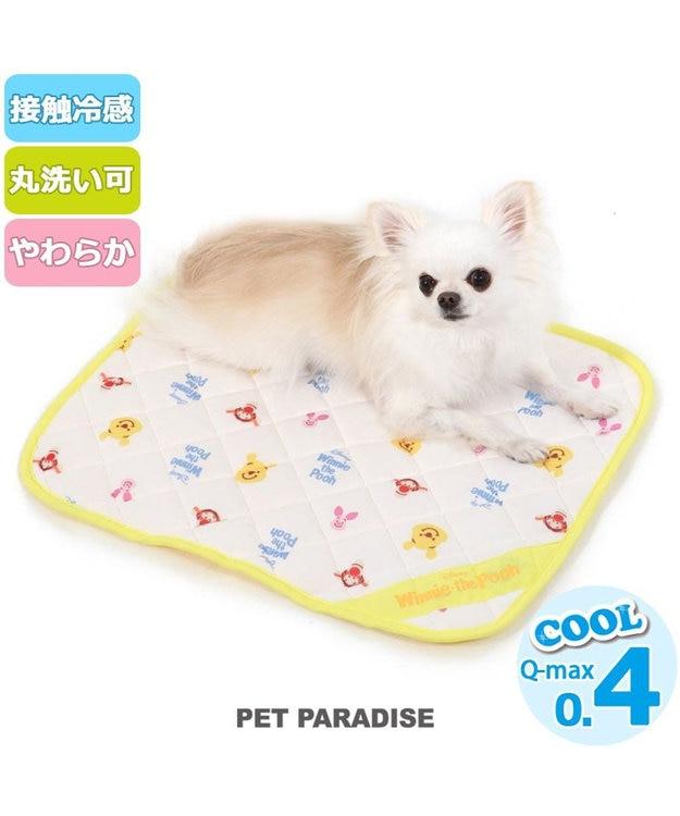 PET PARADISE ペットパラダイス ディズニー くまのプーさん 接触冷感 フレンズ柄 クールマット(48cm×40cm)