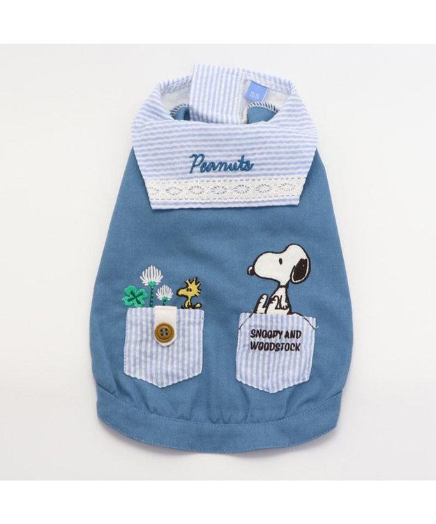 PET PARADISE 犬服 犬 服 ペットパラダイス スヌーピー リネン セーラーシャツ 〔小型犬〕 超小型犬 小型犬