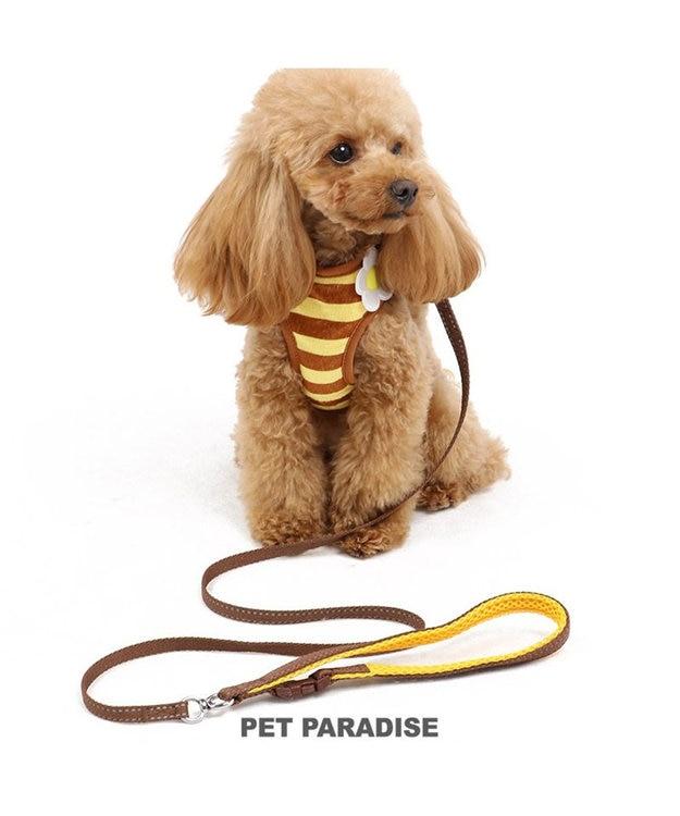 PET PARADISE ペットパラダイス 蜂反射 リード付きハーネス ペット3S
